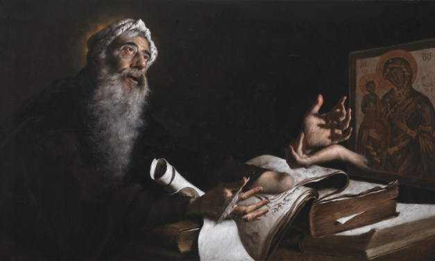 San Giovanni Damasceno: venerare la 'materia' per adorare il suo Creatore