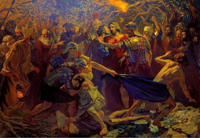 San Marco. L'adolescente che fuggì nudo dal Getsemani.