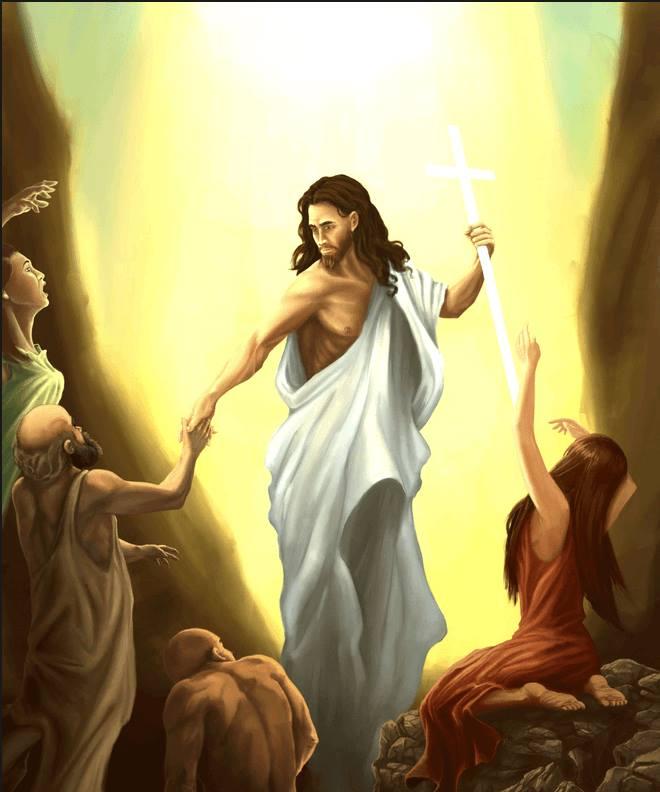 Sabato Santo. La discesa di Gesù agli inferi