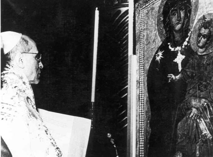 """Ad coeli Reginam"". La monumentale enciclica di Pio XII su Maria Regina."