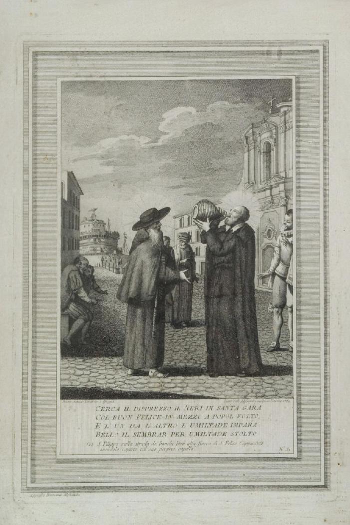 San Felice da Cantalice e San Filippo Neri: gli scherzi che conducono a Dio