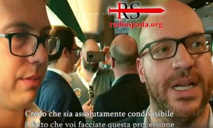 [Video esclusivo] Il ministro Fontana si schiera a favore della processione di riparazione al gay pride