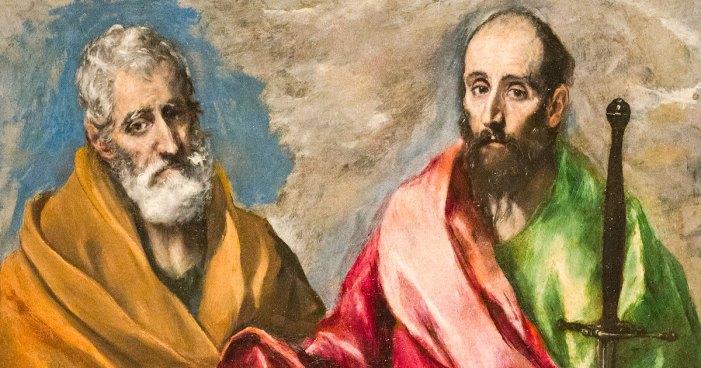 [DIFUNDE TU FE CATOLICA] SAN PEDRO Y SAN PABLO, Apóstoles y Mártires, Columnas de la Iglesia