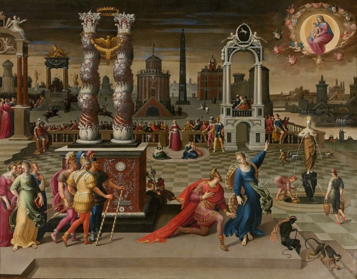 Augusto e Gesù Bambino