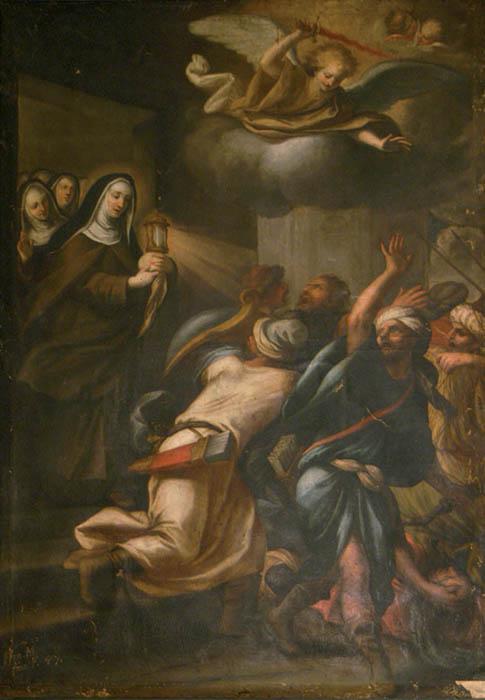 Quando Santa Chiara mise in fuga i Saraceni