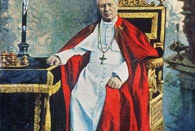San Pio X ci spiega la vera fratellanza e condanna il nuovo umanesimo