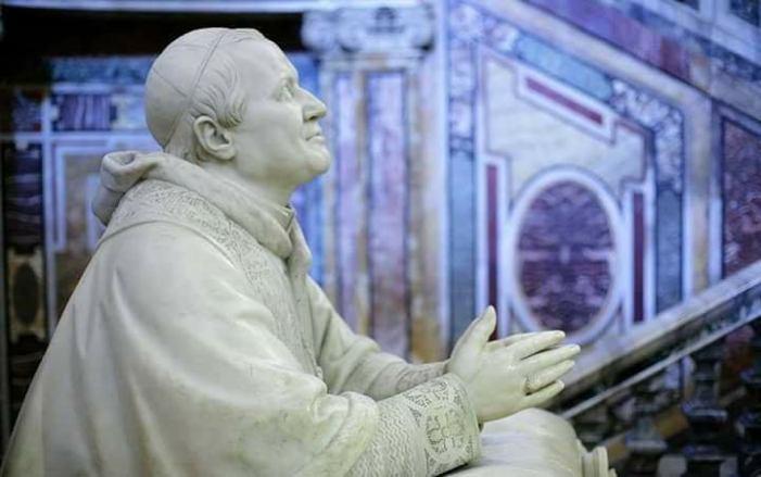 L'ultima preghiera del Papa Re