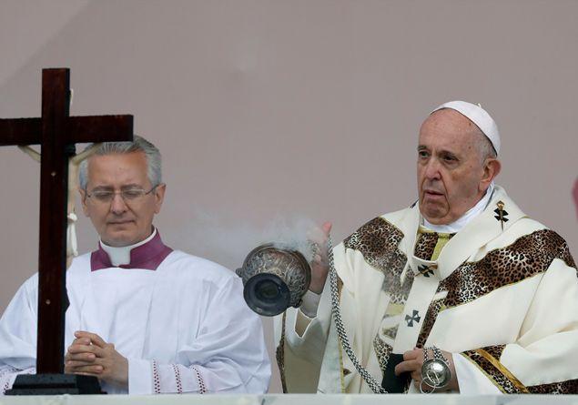 Se Eusebio prende il posto di Gesù nei discorsi di Bergoglio.