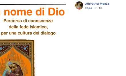 Monza. Ricordate le suore che cacciarono i cattolici dal sagrato? Ora insegnano a dialogare con l'Islam