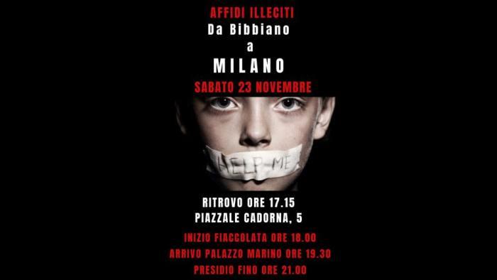 """Il 23 novembre fiaccolata a Milano sugli """"affidi illeciti"""""""