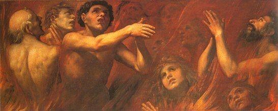Il dogma del Purgatorio – Materia delle espiazioni nel Purgatorio: vanità e peccati di gioventù.