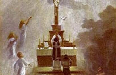 [DIFUNDE TU FE CATOLICA]  Ejercicio Piadoso de Noviembre  en favor de las Benditas Ánimas del Purgatorio. Día 18: LA SAGRADA COMUNIÓN EN FAVOR DE LAS ALMAS DEL PURGATORIO