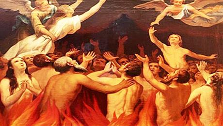 [DIFUNDE TU FE CATOLICA]  Ejercicio Piadoso de Noviembre  en favor de las Benditas Ánimas del Purgatorio. Día 21: LA LIMOSNA EN FAVOR DE LAS ALMAS DEL PURGATORIO