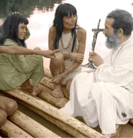 """""""Voglio fare di loro un popolo cristiano ideale"""". Fra'   Jose Alvarez Fernandez missionario in Amazzonia"""