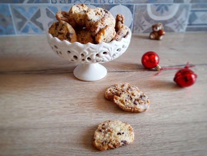 [SPADAKITCHEN] Biscotti con cioccolato e noci