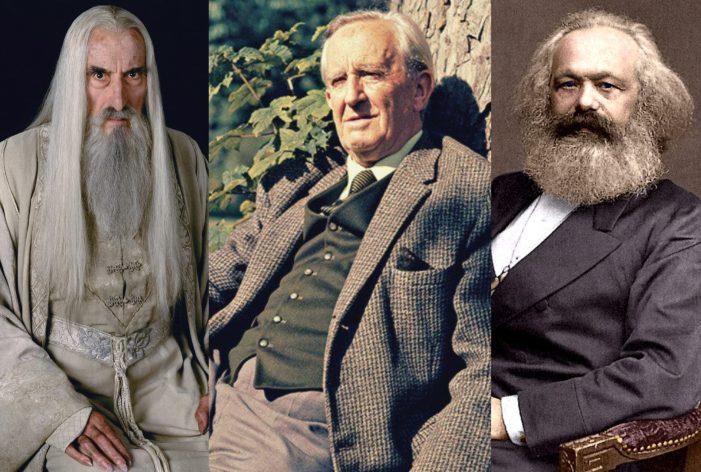 Tolkien e Saruman: declino e caduta di uno stregone marxista