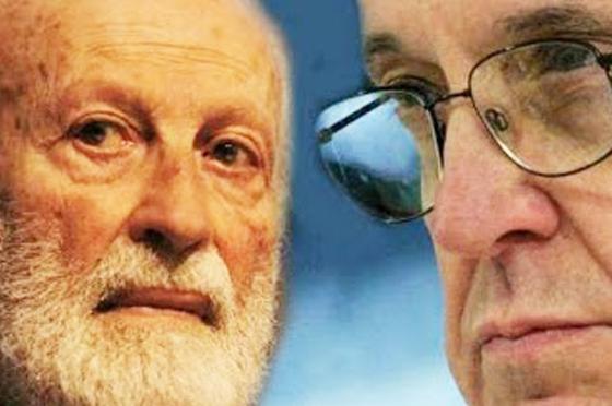 """Scalfari torna da Bergoglio (""""siamo amici""""): """"dio unico"""", """"solidarietà da Ratzinger per questione celibato"""" e altro"""