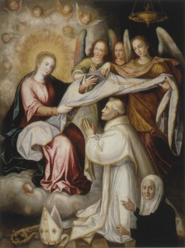 Sant'Ilfefonso di Toledo, il  Cappellano della Vergine Maria.