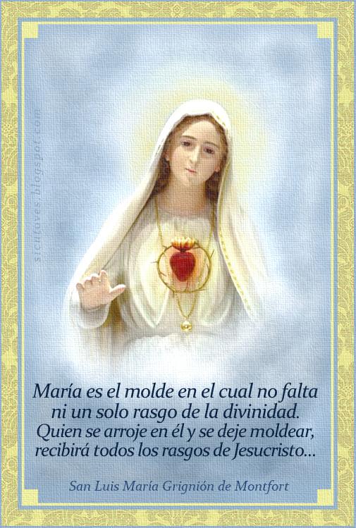 [DIFUNDE TU FE CATOLICA] SER HIJOS DE MARÍA PARA RECIBIR LOS RASGOS DE JESUCRISTO