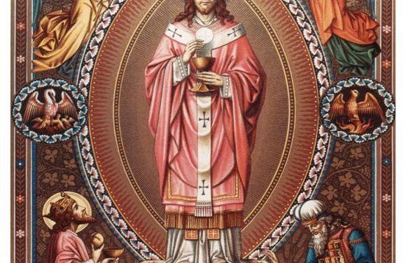 La grandezza del sacerdozio: il sacerdozio di Gesù Cristo