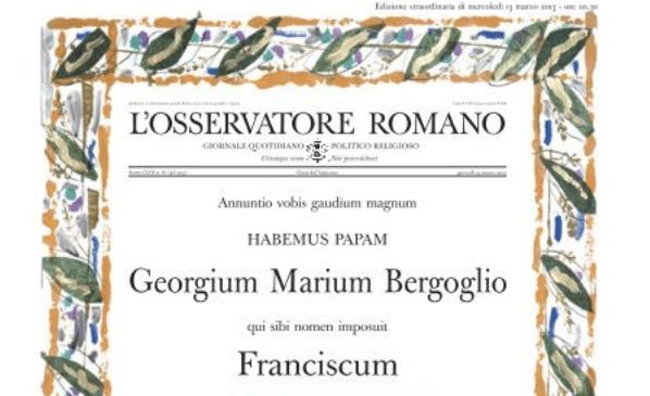 🔴 L'Osservatore Romano sospende la stampa dell'edizione cartacea 🔴