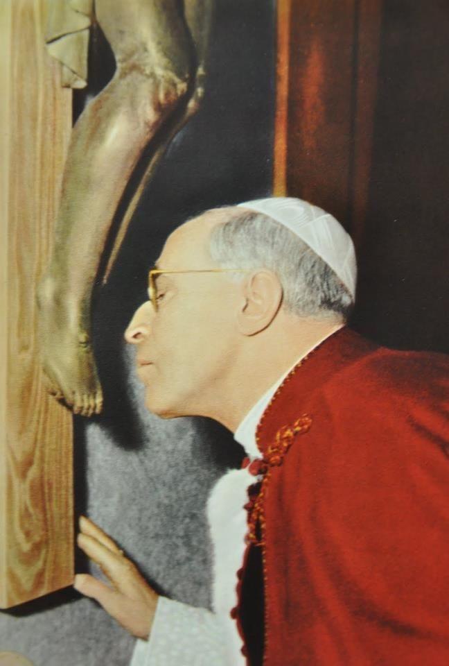 La preghiera di Pio XII al Crocifisso di San Marcello