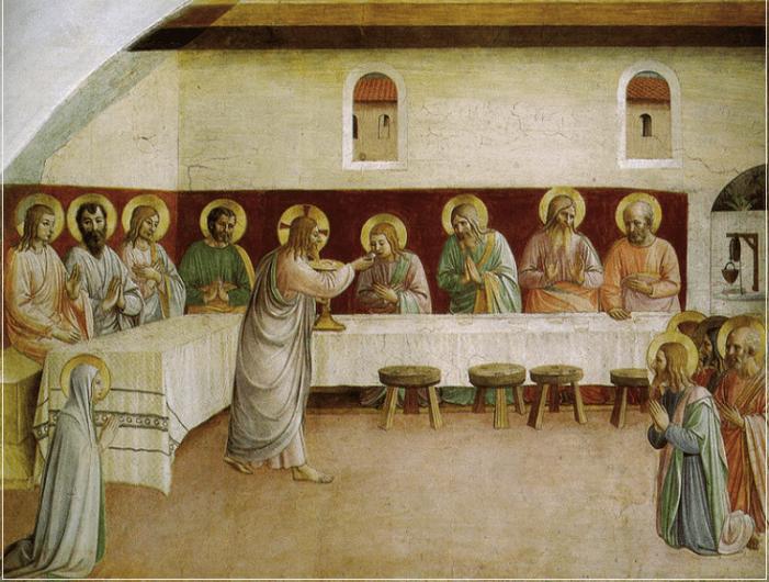 Giuda e l'Eucaristia.