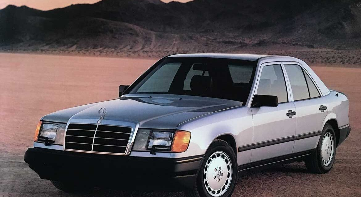 [SPADAMOTORS] Mercedes W124 (1985)