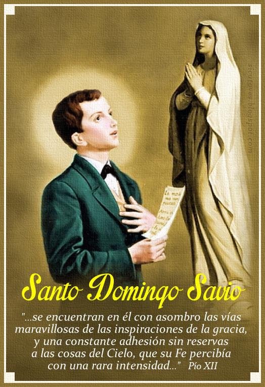 [DIFUNDE TU FE CATOLICA] SANTO DOMINGO SAVIO