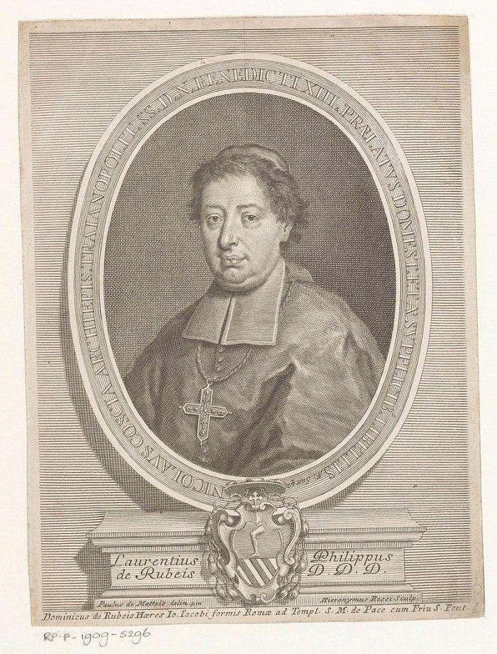 [ROSSO PORPORA] Niccolò Coscia (1682-1755)