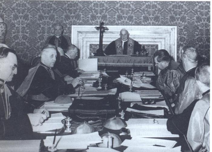 I 50 anni della nuova messa: la preparazione del Concilio Vaticano II