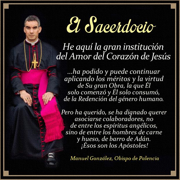 [DIFUNDE TU FE CATOLICA] EL SACERDOCIO, LA INSTITUCIÓN DEL AMOR DEL SAGRADO CORAZÓN DE JESÚS