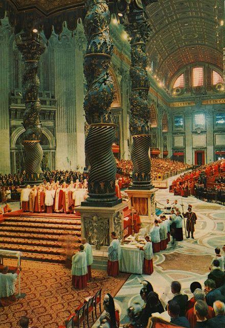 I 50 anni della nuova messa: la costituzione Sacrosantum concilium