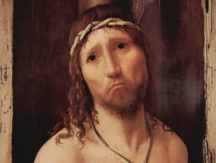 Sangue di Cristo, consolazione nel pianto, salvaci!