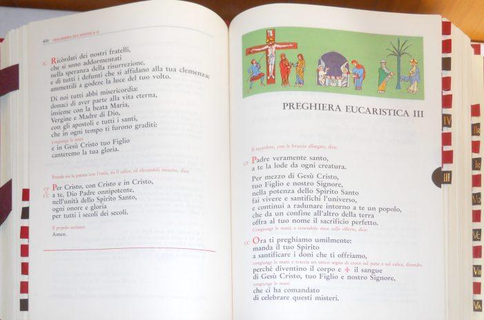 I 50 anni della nuova messa: la realizzazione del nuovo messale