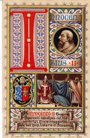 [DA LEGGERE] Innocenzo II contro Anacleto: spunti per una cronaca dello scisma del 1130