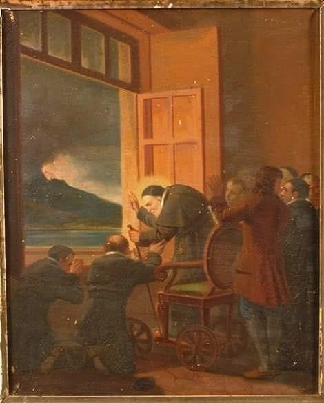 Quando Sant'Alfonso fermò il Vesuvio