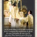 DIFUNDE TU FE CATOLICA EXPLICACIÓN DE LA SANTA MISA, por San Juan María Vianney, Cura de Ars. PARTE 5: Del gran provecho espiritual que conseguimos al escuchar la Santa Misa con devoción