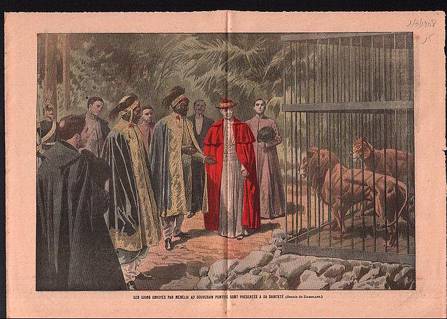 I leoni di san Pio X