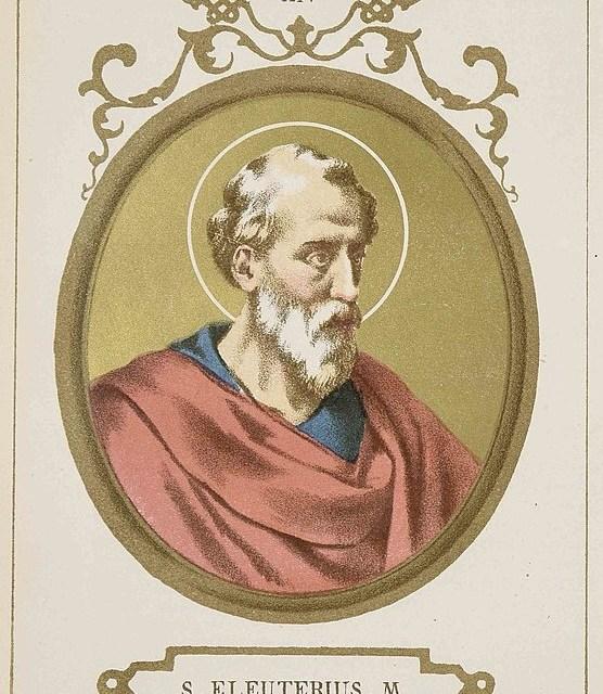 Papa Eleuterio e la conversione dei Britanni.