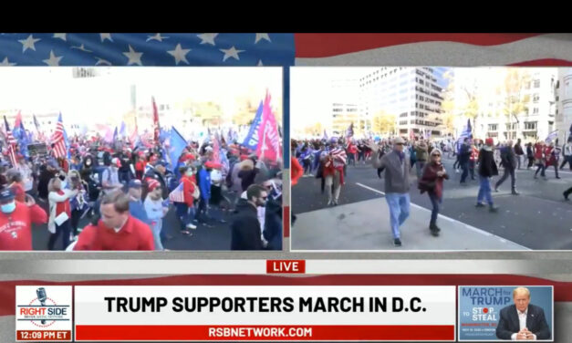 🔴  La diretta video (Right Side) della marcia pro-Trump a Washington