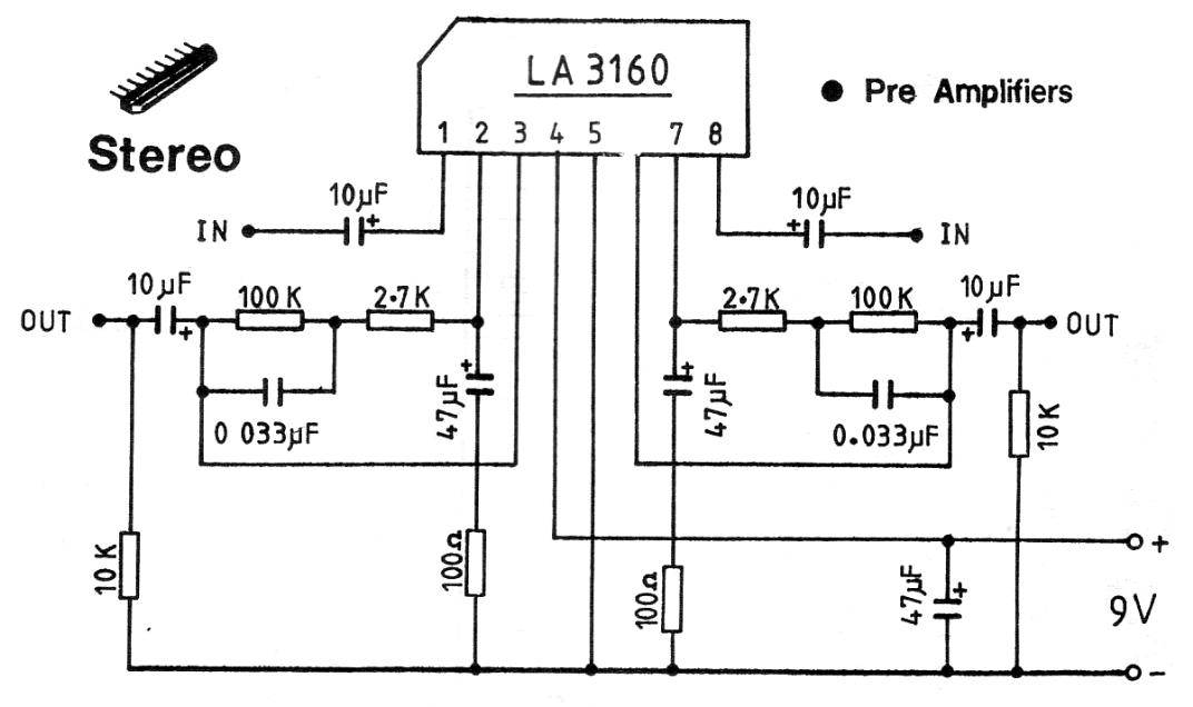 Microphone Preamplifier Schematics Microphone Preamp