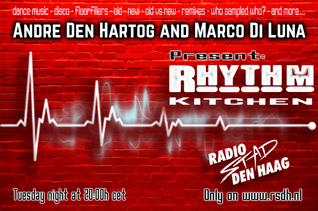 Rhythm Kitchen Live 20190402 RECORDED  Radio Stad Den Haag