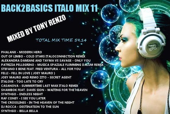 Back2Basics Italo Mix 11 Tony Renzo