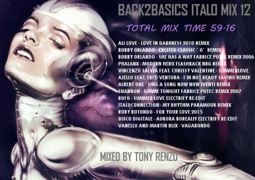 Back2Basics Italo Mix 12 Tony Renzo