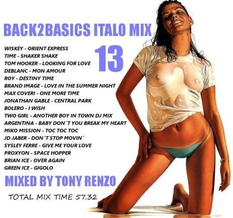 Back2Basics Italo Mix 13 Tony Renzo