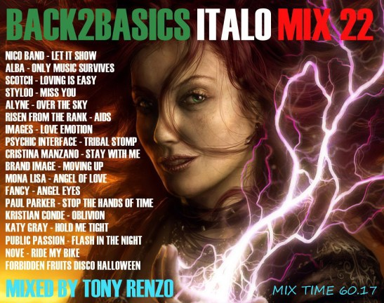 Back2Basics Italo Mix 22 Tony Renzo