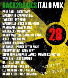 Back2Basics Italo Mix 28 Tony Renzo