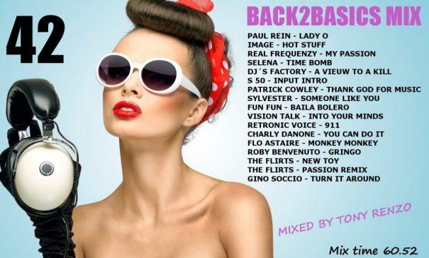 Back2Basics Mix 42 Tony Renzo