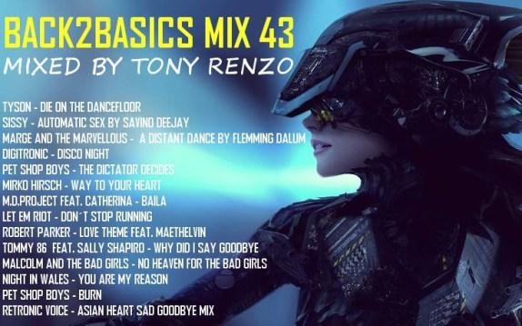 Back2Basics Mix 43 Tony Renzo